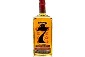 SEAGRAM'S 7 CROWN CHERRY 1 Ltr 35.5% Whisky blend canada