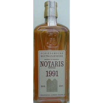 NOTARIS MOUTWIJNJENEVER VINTAGE 1991 0.70 Ltr 35%