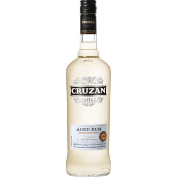 CRUZAN AGED WHITE 1 Ltr 40%