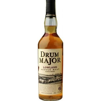DRUM MAJOR LOWLAND 6 YEARS 0.70 Ltr 43%
