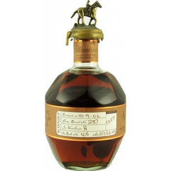 BLANTONS STRAIGTH FROM THE BARREL 0.70 Ltr 65.45%
