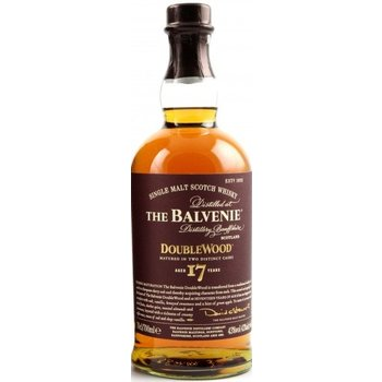 BALVENIE 17 YEARS DOUBLE WOOD 0.70 Ltr 43%