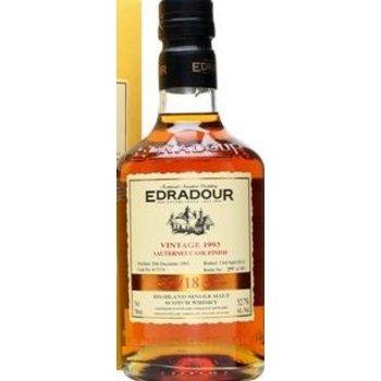 EDRADOUR 1993 SAUTERNES 0.70 Ltr 52.7%