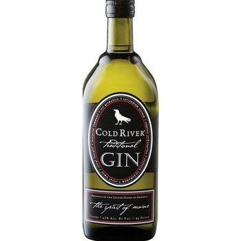 COLD RIVER TRADITIONAL GIN 0.75 Ltr 47%