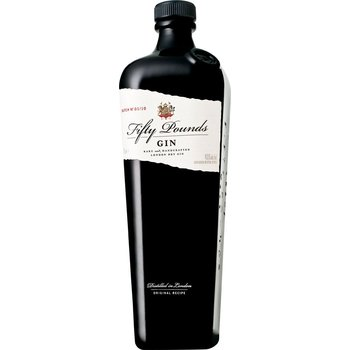 FIFTY POUNDS DRY GIN 0.70 Ltr 43.5%