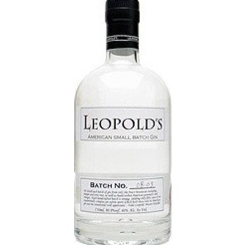 LEOPOLD'S SMALL BATCH GIN 0.70 Ltr 40%