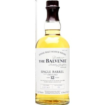 BALVENIE 12 YEARS SINGLE BARREL FIRST FILL 0.70 Ltr 47.8%