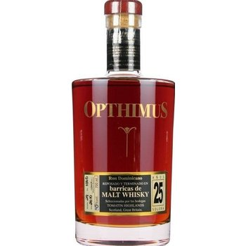 OPTHIMUS 25 YEARS WHISKY 0.70 Ltr 43%