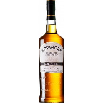 BOWMORE GOLD REEF 1 Ltr 43%