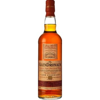 GLENDRONACH CASK STR. BATCH 3 0.70 Ltr 54.9%