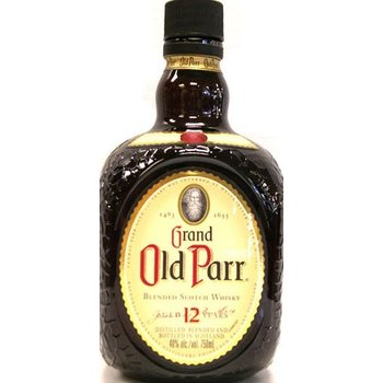 GRAND OLD PARR 12 YEARS 1 Ltr 40%