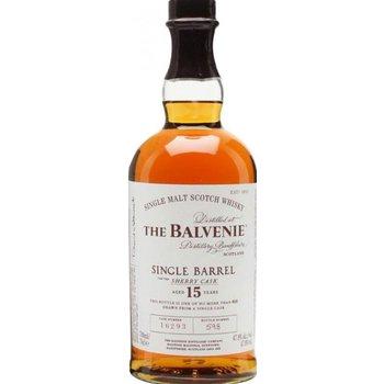 BALVENIE 15 YEARS SINGLE BARREL 0.70 LTR 47.8%