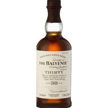 BALVENIE 30 YEARS 0.70 Ltr 47.3%