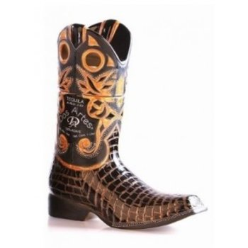 TEQUILA DOS ARTES CERAMIC BOOTS 100% AGAVE 1 Ltr 40%