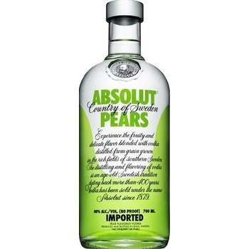 ABSOLUT PEARS 0.70 Ltr 40%