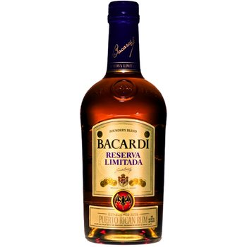 BACARDI RESERVA LIMITADA 1 Ltr 40%