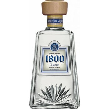 1800 SILVER 100 % AGAVE 0.70 38%