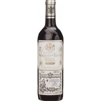 Marqués de Riscal Rioja Reserva 75 Cl 14%