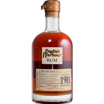 ENGLISH HARBOUR 25 YEARS DISTILLED 1981 0.70 Ltr 40%