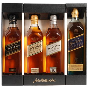 JOHNNIE WALKER COLLECTION GIFT PACK 0.80 Ltr 43%