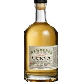 WENNEKER TRINIDAD & TOBAGO CASK GENEVER 0.50 Ltr 36%