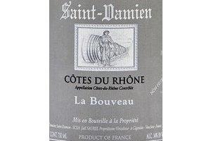 SAINT DAMIEN RHONE ROUGE LA BOUVEAU 2012 0.75 Ltr 15%