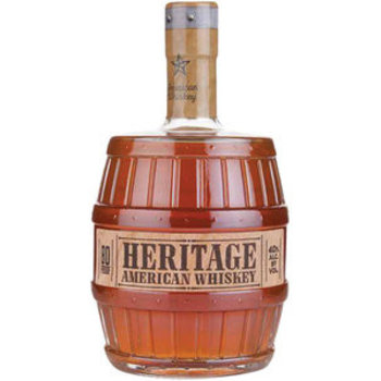 HERITAGE AMERICAN WHISKEY 0.70 Ltr 40%