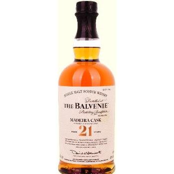 BALVENIE 21 YEARS MADEIRA CASK 0.70 Ltr 40%