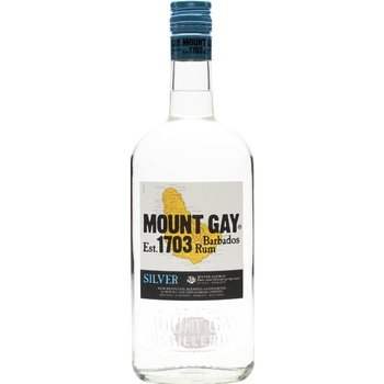 MOUNT GAY SILVER 1 Ltr 40%