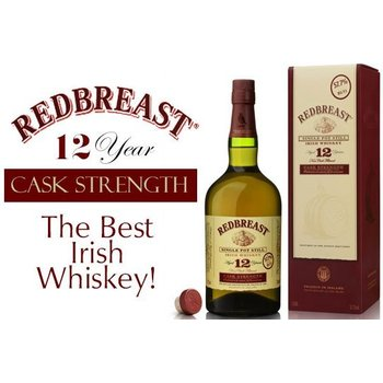 REDBREAST 12 YEARS CASK STRENGTH 57.2% 0.70 LTR