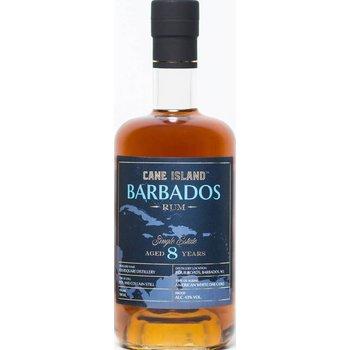 CANE ISLAND 8 YEARS SINGLE ESTATE BARBADOS 43% 0.70 LTR