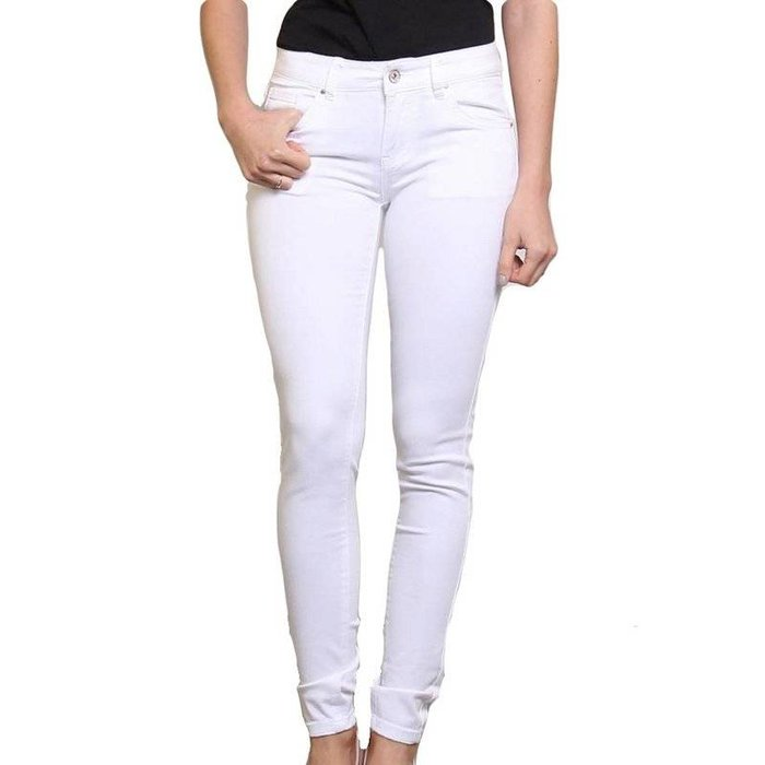 Skinny jeans wit