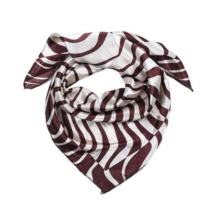 Brown zebra sjaaltje