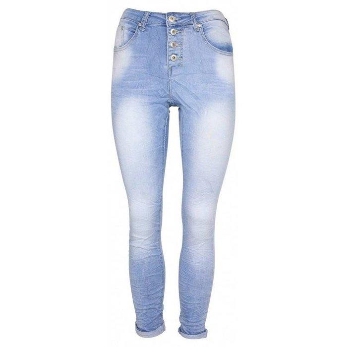 Jog jeans lichtblauw