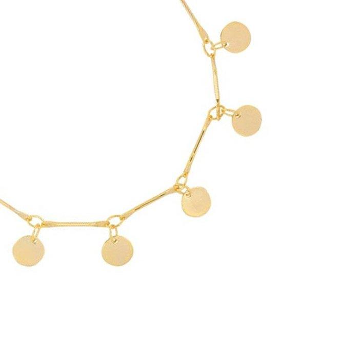 Armband cirles gold