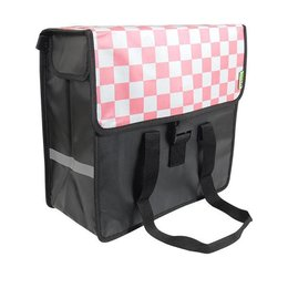 Beck Shopper Pink Checker