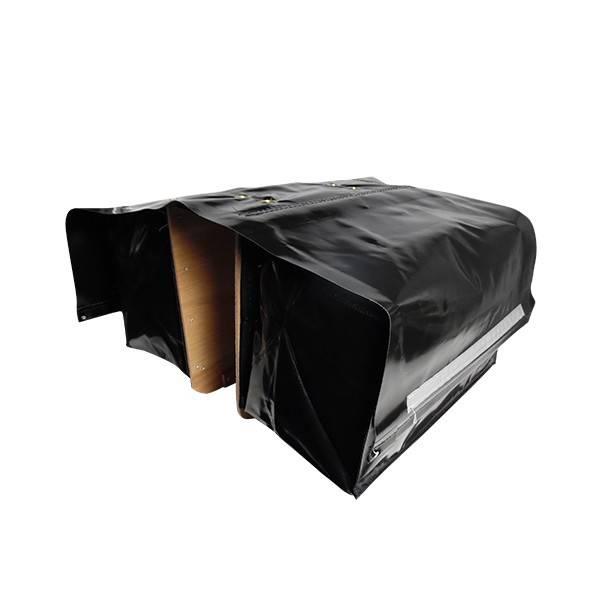 fietstas de poort luxe xxxl zwart. Black Bedroom Furniture Sets. Home Design Ideas