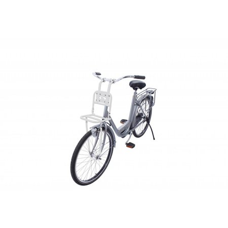 Steco Transport Comfort kleine voordrager voor kinderfiets - wit