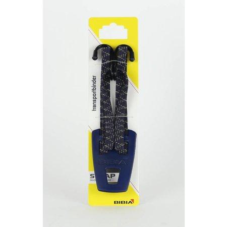 Widek Transportbinder Bibia Jeans Donkerblauw (met goud) - stoer en stevig vlechtwerk