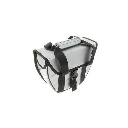 Beck Enkele fietstas | shopper Beck Micro Zilver - 5 liter - zeer compact