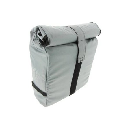 Beck Enkele fietstas - Shopper - Roll Single Silver