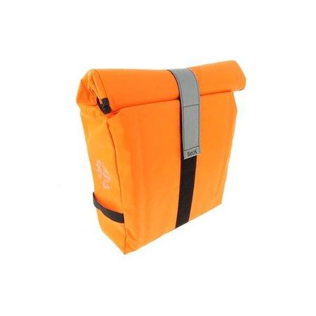 Beck Enkele fietstas - Shopper - Roll Single Fluo Orange