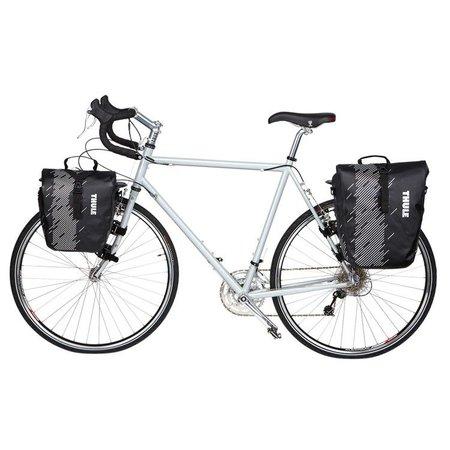 Thule Dubbele fietstas Shield Pannier S 28L Blauw
