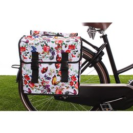 Basil Dubbele fietstas Mara XL Double Bag Meadow
