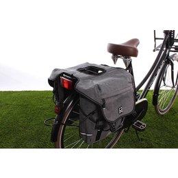 Willex Dubbele fietstas Bagagetas 1200 28L Antraciet