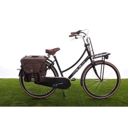 Willex Dubbele fietstas Bagagetas XL 1200 Bruin - 50 liter