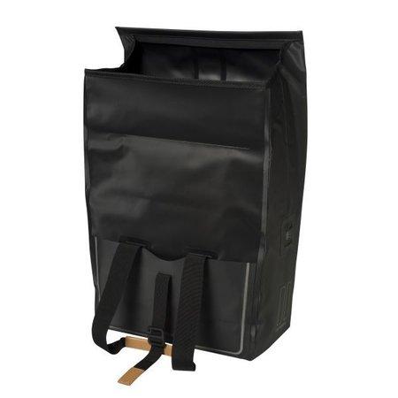 Basil Urban Dry Shopper/pakaftas Matzwart 20L