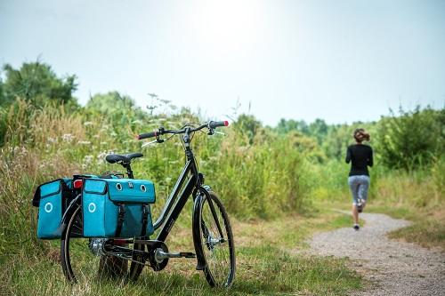 Vakantie en fijne fietstassen