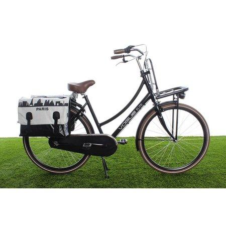 Beck Dubbele fietstas Classic Parijs - 46 liter