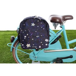 Basil Kinderfietstas Stardust backpack Nightshade